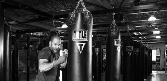 trening bokserski na siłowni